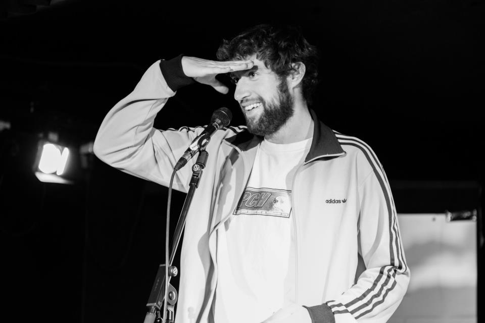 Sevi Agostini beim Poetry Slam